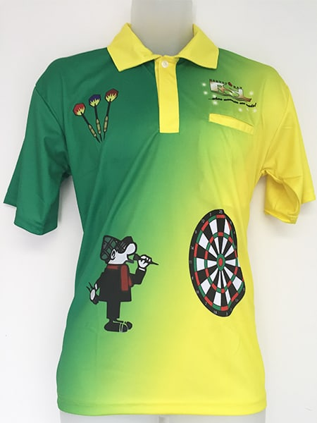 Sublimated Polo Shirt for Hervey Bay RSL - Custom Made Uniforms