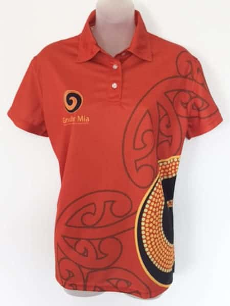 Sublimated Polo Shirt for Maori Women's Welfare League - Custom Made Uniforms