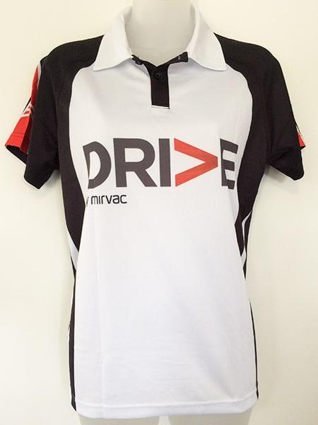 Sublimated Polo Shirt for Mirvac - Custom Made Uniforms