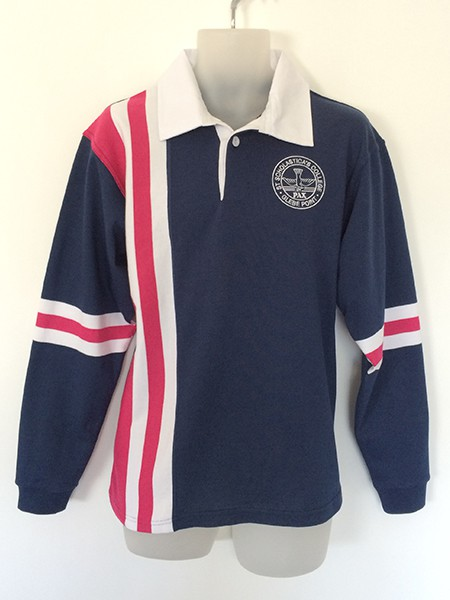 Sublimated Polo Shirt for St Scholastica's - School Leavers Jerseys - Custom Made Uniforms