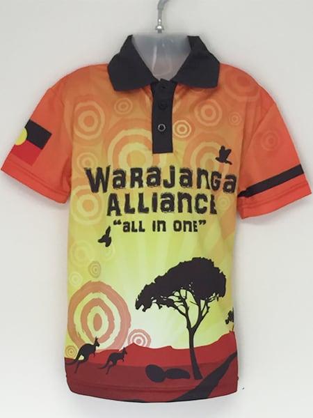Sublimated Polo Shirt for-Warajanga - Custom Made Uniforms