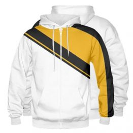 Sublimated Zipper Front Hoodie 001 - Custom Made Uniforms