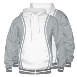Sublimated Zipper Front Hoodie 002 - Custom Made Uniforms