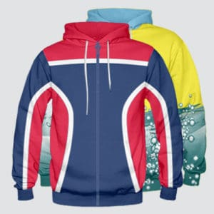 Zipper Front Hoodies
