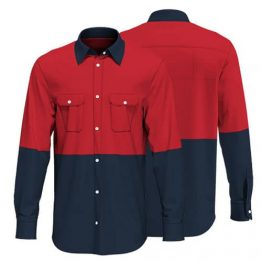 Cotton Drill Workwear Shirt 015 - Custom Made Uniforms