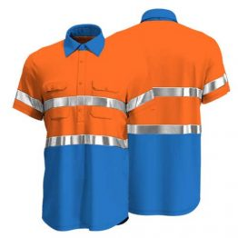 Cotton Drill Workwear Shirt 012 - Custom Made Uniforms
