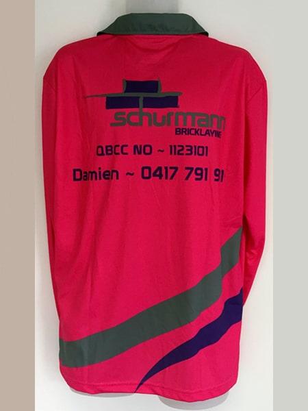 Custom Made Polo Shirt for Schurmann - Custom Made Uniforms