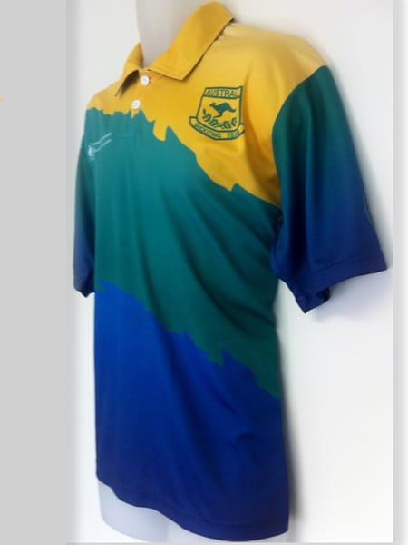 Custom Made Polo Shirt for Australian Shooting Team