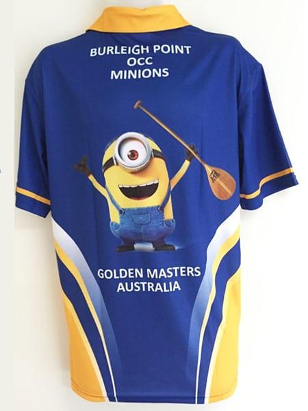 Custom Made Polo Shirt for Burleigh Minions