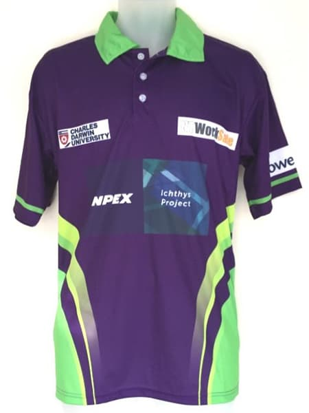 Custom Made Polo Shirt for Roof Master NT
