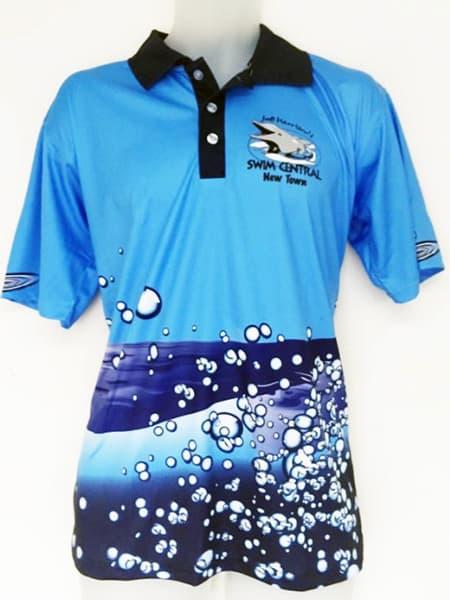 Custom Made Polo Shirt for Swim Central