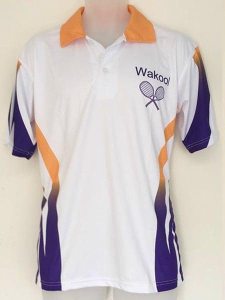 Custom Made Polo Shirt for Wakool Tennis Club