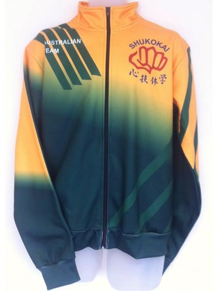 Sublimated Jacket for Shukokai - Custom Made Uniforms