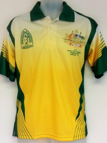 Custom Made Polo Shirt for Archery Australia
