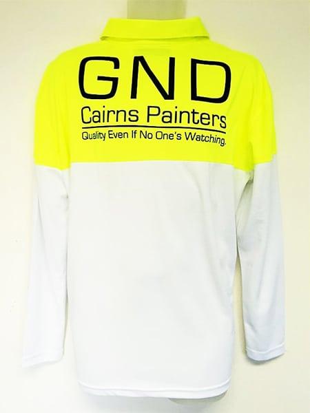 Custom Made Polo Shirt for GND