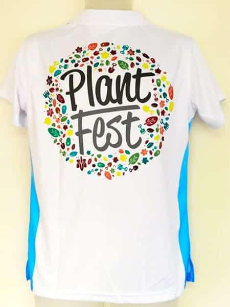 Custom Made Polo Shirt for Plant Fest