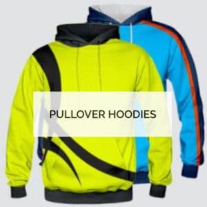 Printed Custom Pullover Hoodie - Custom Made Uniforms